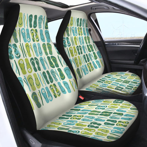 Flip Flop Frenzy Car Seat Cover-Coastal Passion