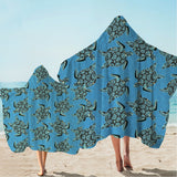 I Sea Turtles Hooded Towel-🇦🇺 Australian Coastal Passion