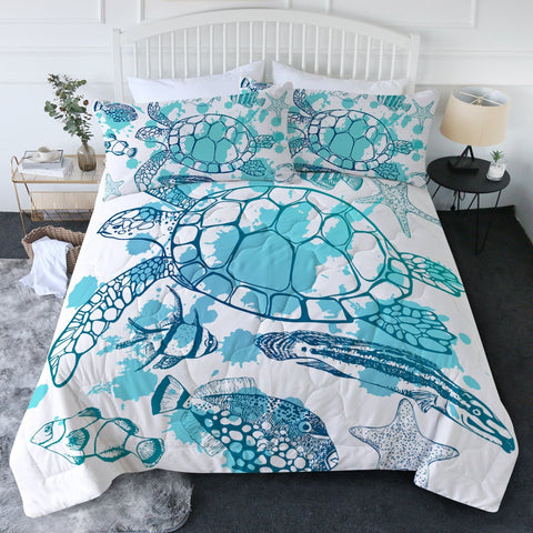Sea Turtle Society New Quilt Set-🇦🇺 Australian Coastal Passion
