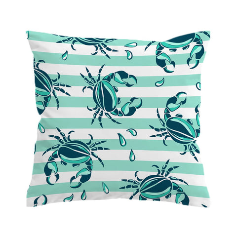 Lovely Little Crabs Cushion Cover-🇦🇺 Australian Coastal Passion