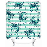 Lovely Little Crabs Shower Curtain-Shower Curtain-Australian Coastal Passion