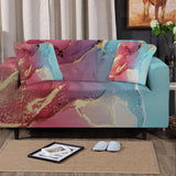 Coastal Sofa Slipcover-Budelli Beach Couch Cover-Coastal Passion