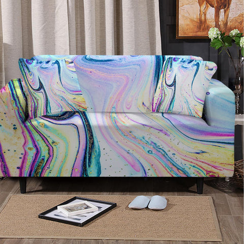 Coastal Sofa Slipcover-Maya Bay Couch Cover-Coastal Passion