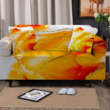 Coastal Sofa Slipcover-South Beach Couch Cover-Coastal Passion