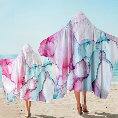 Coastal Hooded Beach Towel-Waikiki Hooded Towel-Coastal Passion