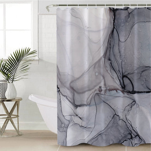 Coastal Shower Curtain-Playa Pavones Shower Curtain-Coastal Passion