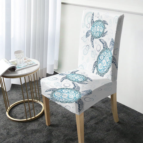 The Original Sea Turtle Twist Chair Cover-Australian Coastal Passion