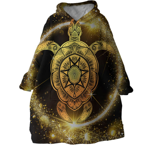 The Astro Sea Turtle Wearable Blanket Hoodie-Coastal Passion