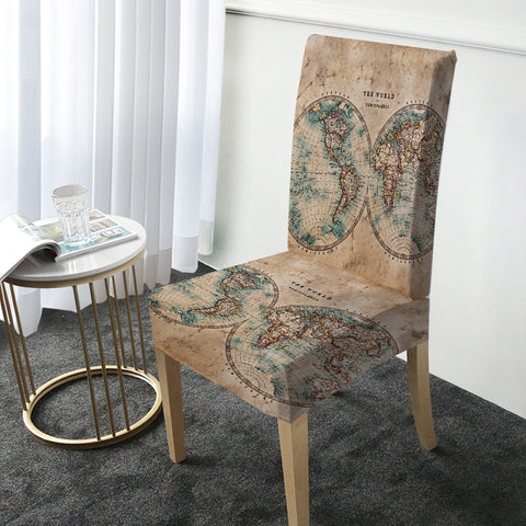 The World Chair Cover-Australian Coastal Passion