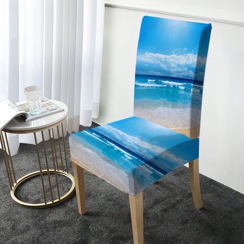 Peace of the Beach Chair Cover-Australian Coastal Passion