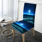 Moonlight Magic Chair Cover-Australian Coastal Passion