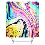 Coastal Shower Curtain-Santa Monica Shower Curtain-Coastal Passion