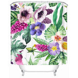 Tropical Blossom Shower Curtain-Shower Curtain-Australian Coastal Passion