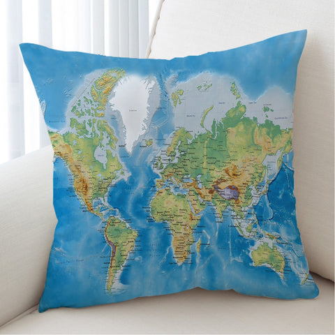 The Seven Seas Cushion Cover-Australian Coastal Passion
