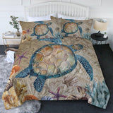 The Original Sea Turtle Island New Quilt Set-🇦🇺 Australian Coastal Passion