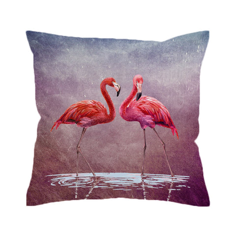 Ladies in Pink Cushion Cover