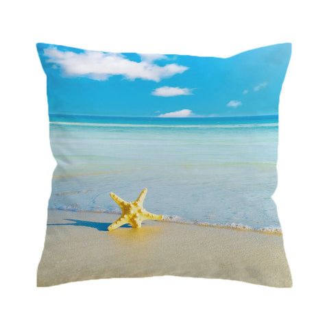 Beach Please Cushion Cover-🇦🇺 Australian Coastal Passion