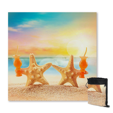 Starfish Friday Sand Free Towel