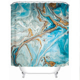 Coastal Shower Curtain-The Baths Shower Curtain-Coastal Passion