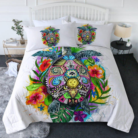 The Original Turtle Mystic New Quilt Set-🇦🇺 Australian Coastal Passion