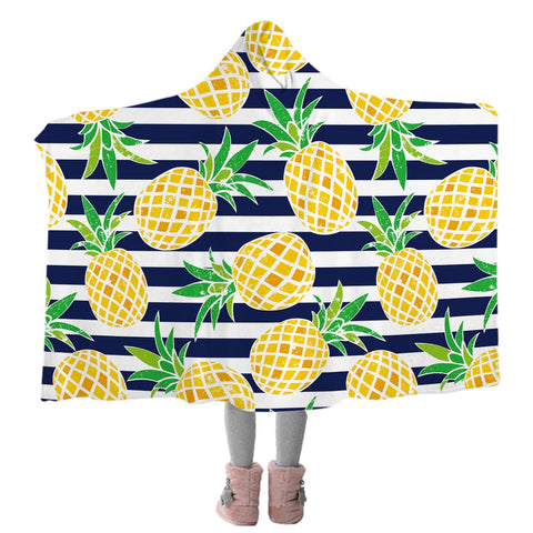 Pina Cabana Cozy Hooded Blanket-Coastal Passion