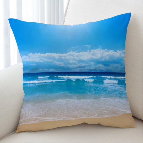 Peace of the Beach Cushion Cover-Australian Coastal Passion
