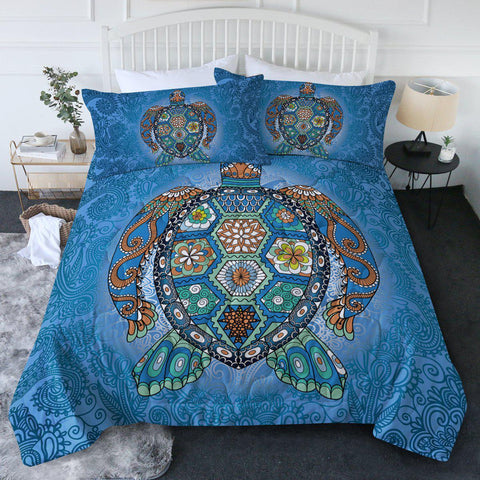The Original Turtle Totem New Quilt Set-🇦🇺 Australian Coastal Passion