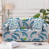 Dolphins Soul Fins Couch Cover-Australian Coastal Passion