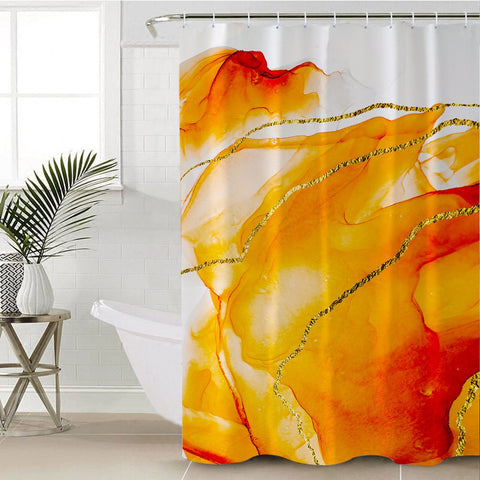 Coastal Shower Curtain-South Beach Shower Curtain-Coastal Passion