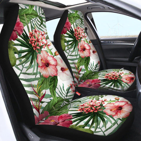 Tropical Hibiscus Car Seat Cover