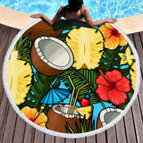 Cayo Coco Round Beach Towel-Round Beach Towel-Australian Coastal Passion