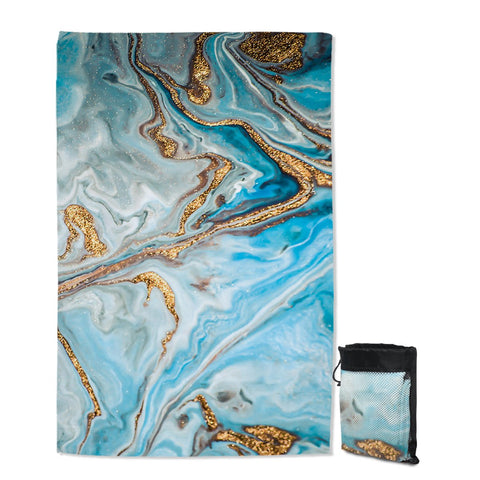 Coastal Sand Free Beach Towel-The Baths Sand Free Towel-Coastal Passion