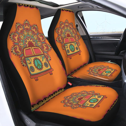 The Happy Bus Car Seat Cover-🇦🇺 Australian Coastal Passion