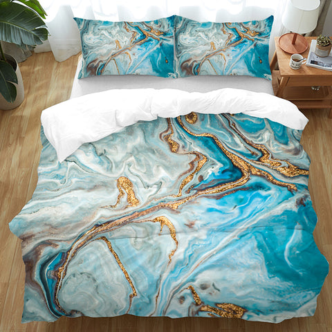 Coastal Doona Quilt Cover Set-The Baths Doona Cover Set-Coastal Passion