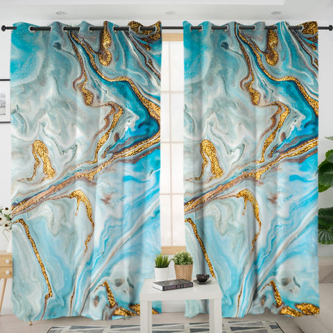 Coastal Curtain-The Baths Curtains-Coastal Passion