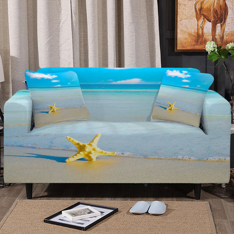Beach Please Couch Cover