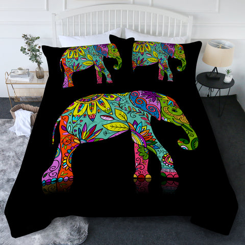 Free Spirit Elephant New Quilt Set