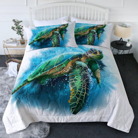 Queen of the Ocean New Quilt Set-🇦🇺 Australian Coastal Passion