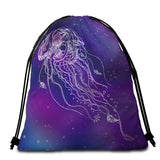 Coastal Round Beach Towel-Jelly Dreams Towel + Backpack-Coastal Passion