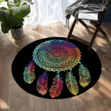 Coastal -New Dreamland Round Floor Mat-Coastal Passion
