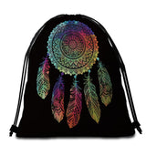 Coastal Round Beach Towel-The New Dreamland Beach Towel + Backpack-Coastal Passion