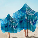 Coastal Hooded Towel-Ocean Dreaming Hooded Towel-Coastal Passion