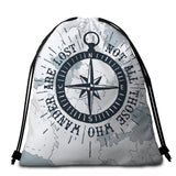 Coastal Round Beach Towel-The Ocean Wanderer Towel + Backpack-Coastal Passion