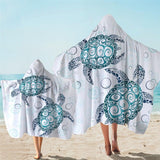 Coastal Hooded Towel-The Original Turtle Twist Hooded Towel-Coastal Passion