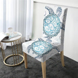 The New Sea Turtle Twist Chair Cover-Australian Coastal Passion