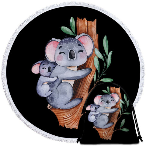 Coastal -The Cosy Koala Towel for Kids-Coastal Passion