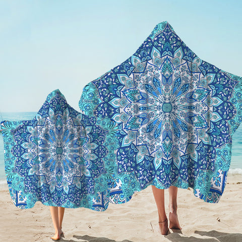 Coastal Hooded Towel-Pandawa Beach Hooded Towel-Coastal Passion