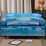 Peace of the Beach Couch Cover