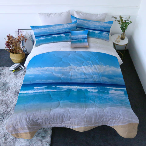 Peace of the Beach Quilt Set