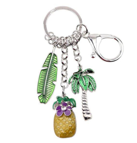 Tropicalist - Enamel Pendant Key Ring